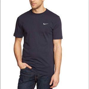 Nike Navy Blue Men Short Sleeve Tee-Shirt Sz XL.